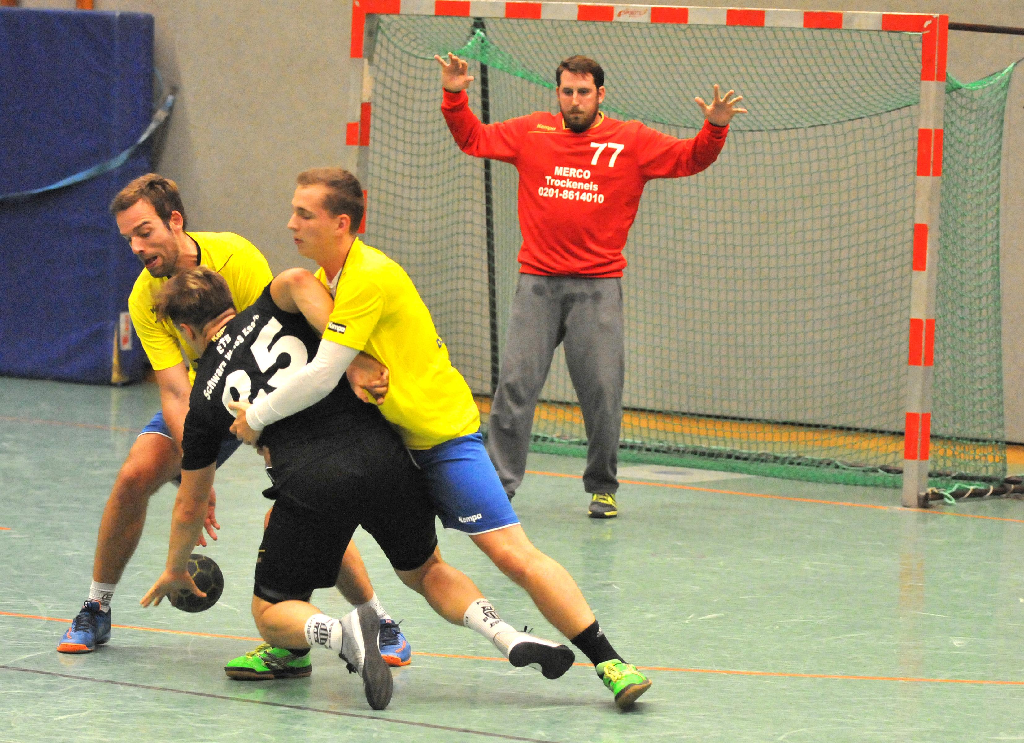 Handball-Landesliga 1. Spieltag