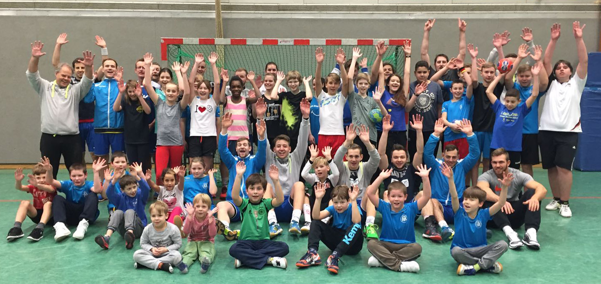 Handball-Fun in der Bockmühle